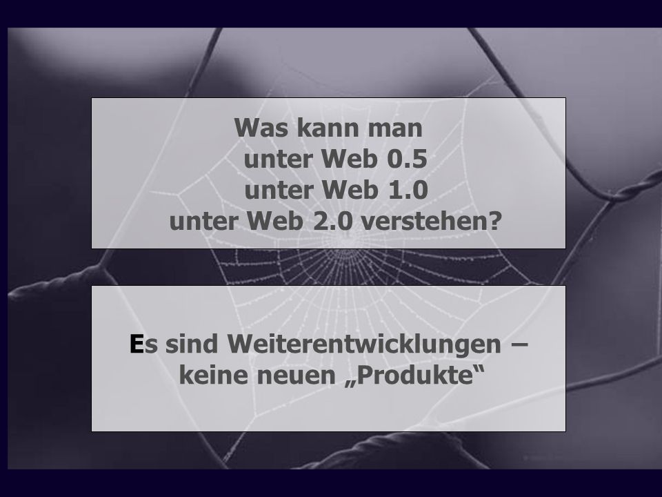 """Es sind Weiterentwicklungen – keine neuen """"Produkte"""