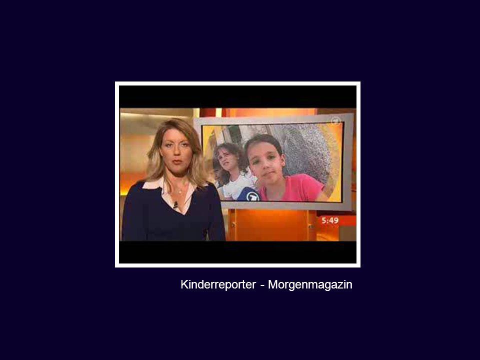 Kinderreporter - Morgenmagazin