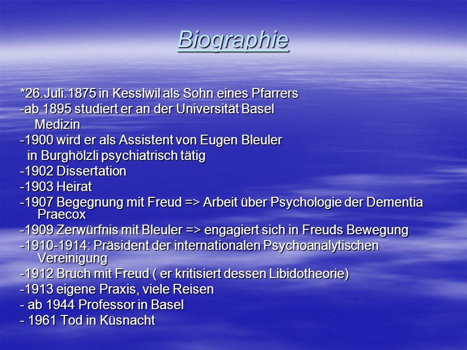 Biographie *26.Juli.1875 in Kesslwil als Sohn eines Pfarrers