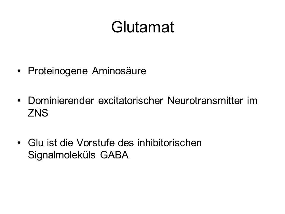 Glutamat Proteinogene Aminosäure