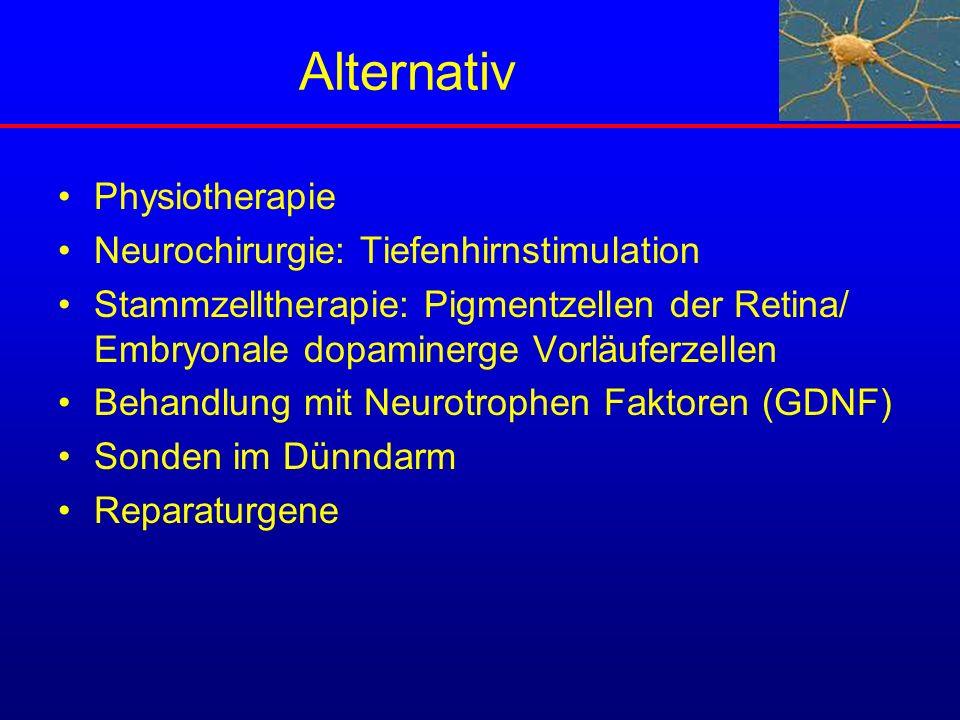 Alternativ Physiotherapie Neurochirurgie: Tiefenhirnstimulation