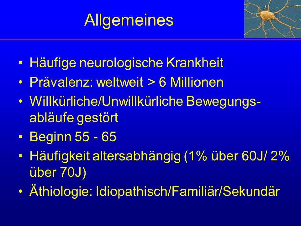 Allgemeines Häufige neurologische Krankheit
