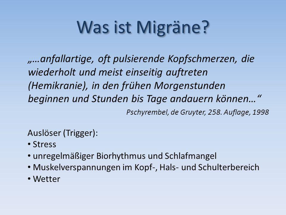 Was ist Migräne