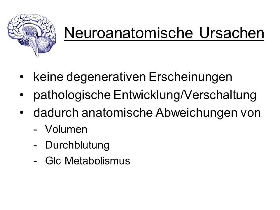 Neuroanatomische Ursachen
