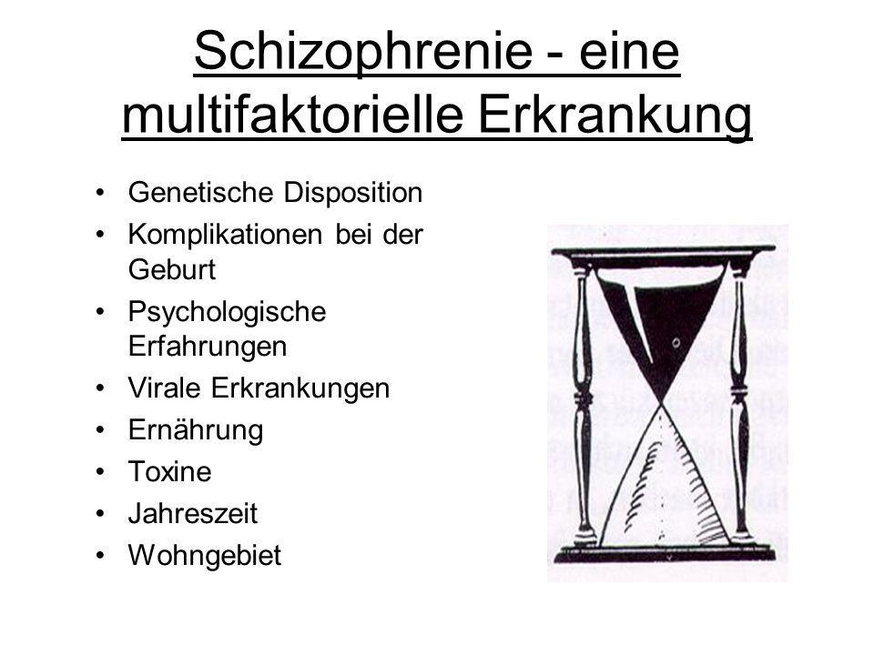 Schizophrenie - eine multifaktorielle Erkrankung