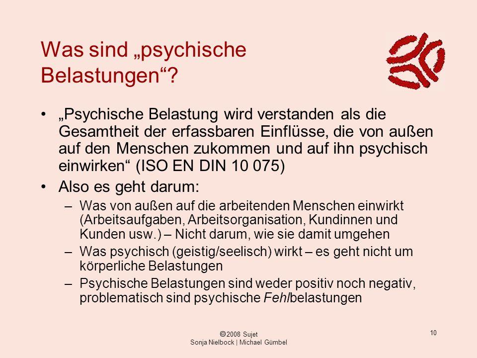 """Was sind """"psychische Belastungen"""