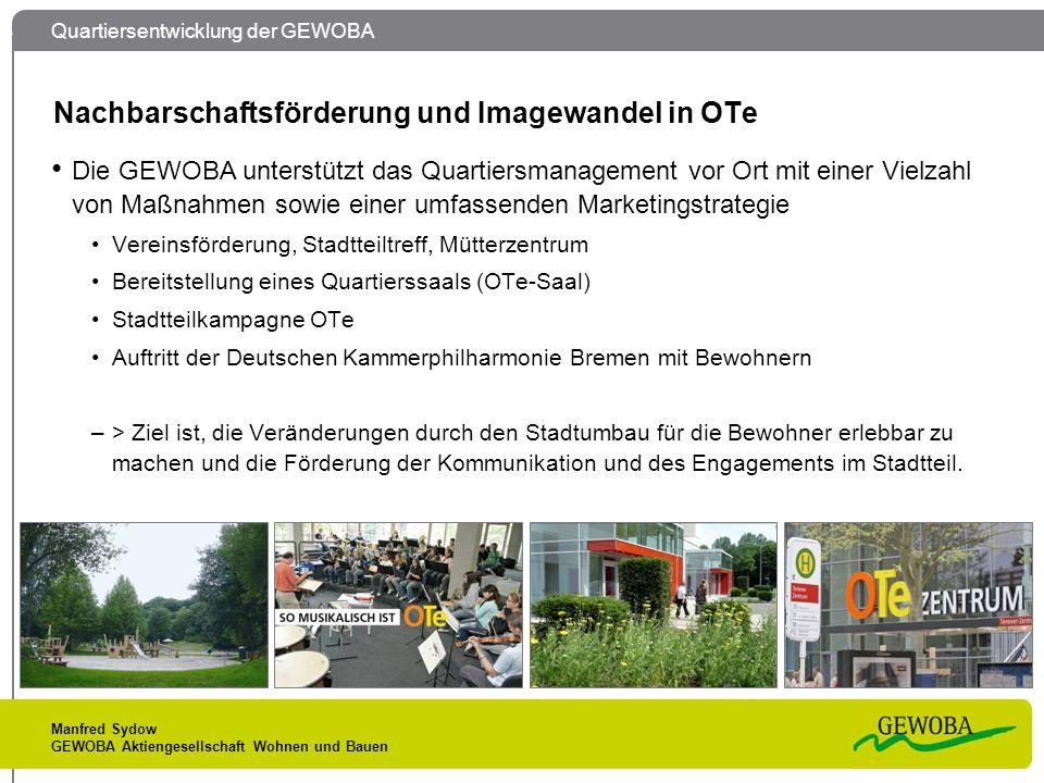 Nachbarschaftsförderung und Imagewandel in OTe