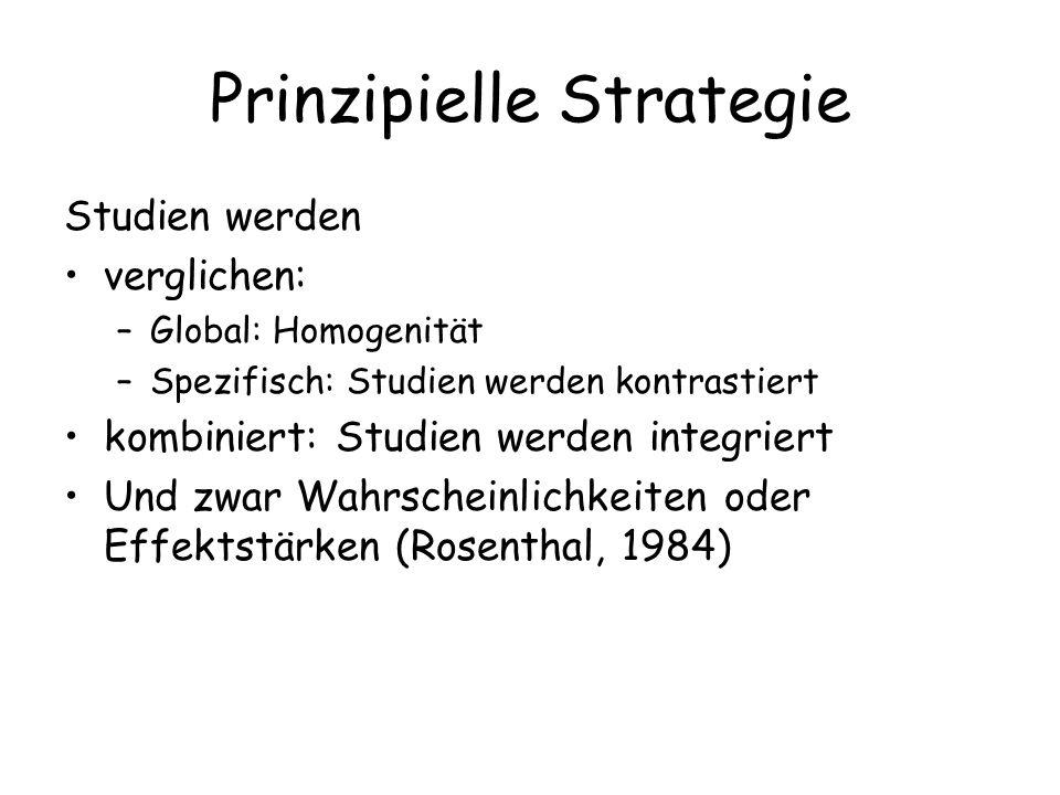 Prinzipielle Strategie