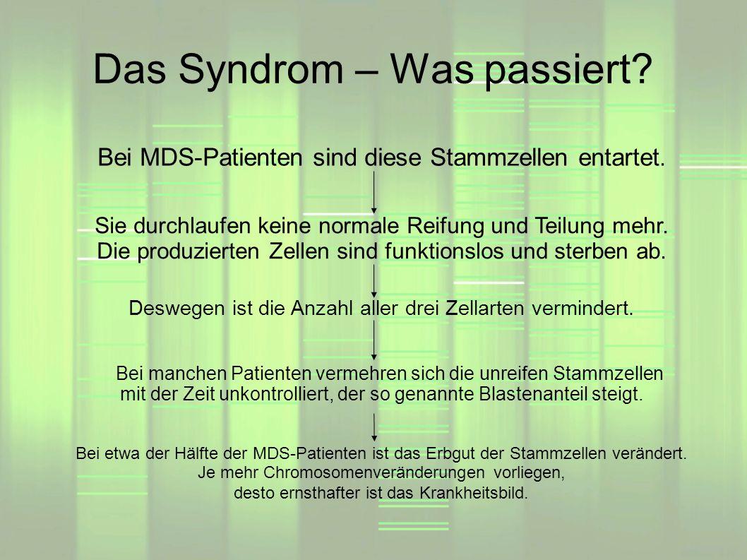 Das Syndrom – Was passiert
