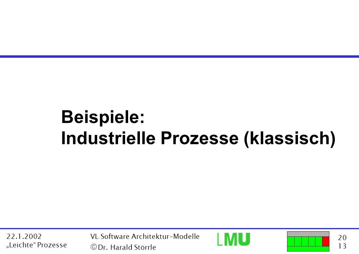 Industrielle Prozesse (klassisch)