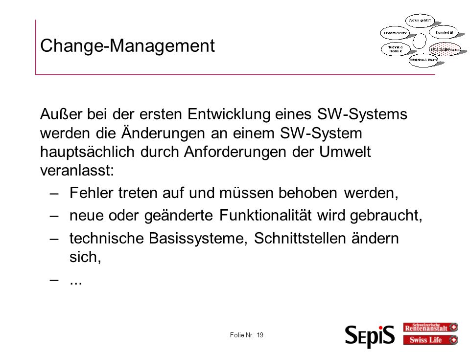 Vorlesung KonfigMgmt 27.03.2017. Change-Management.