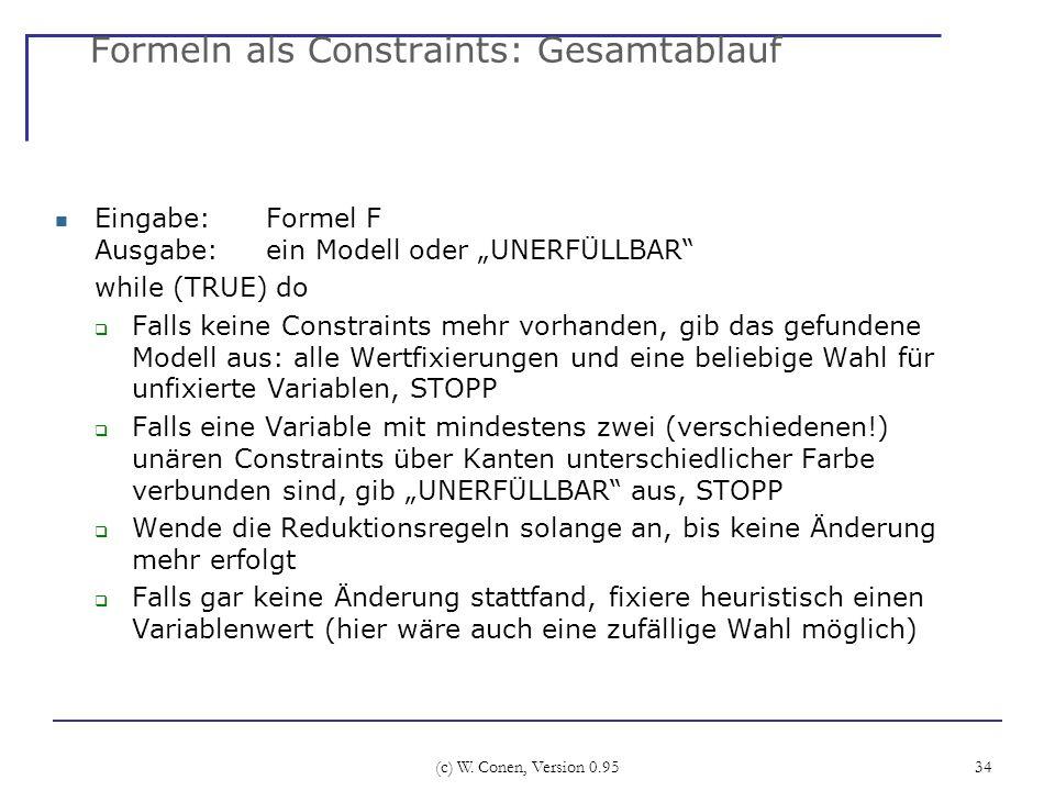 Formeln als Constraints: Gesamtablauf