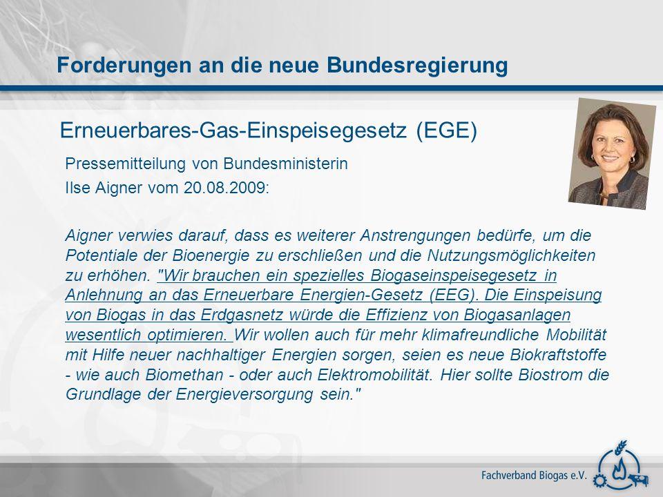 Erneuerbares-Gas-Einspeisegesetz (EGE)