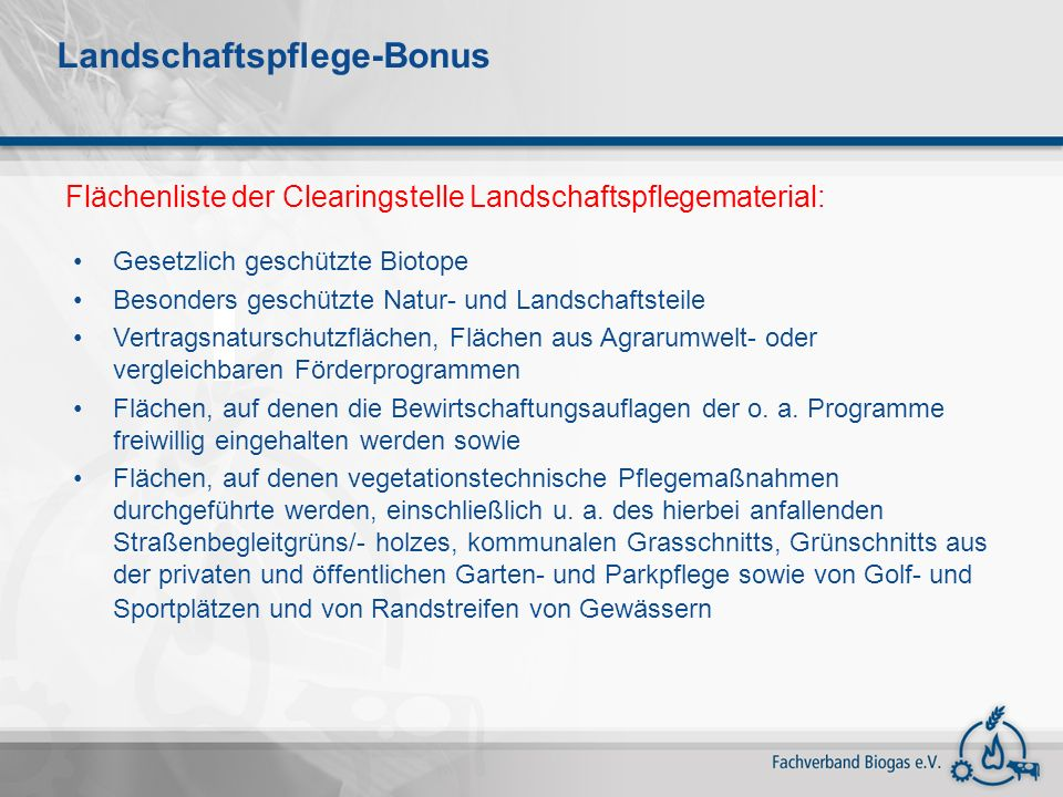 Landschaftspflege-Bonus