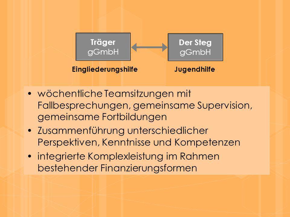 integrierte Komplexleistung im Rahmen bestehender Finanzierungsformen