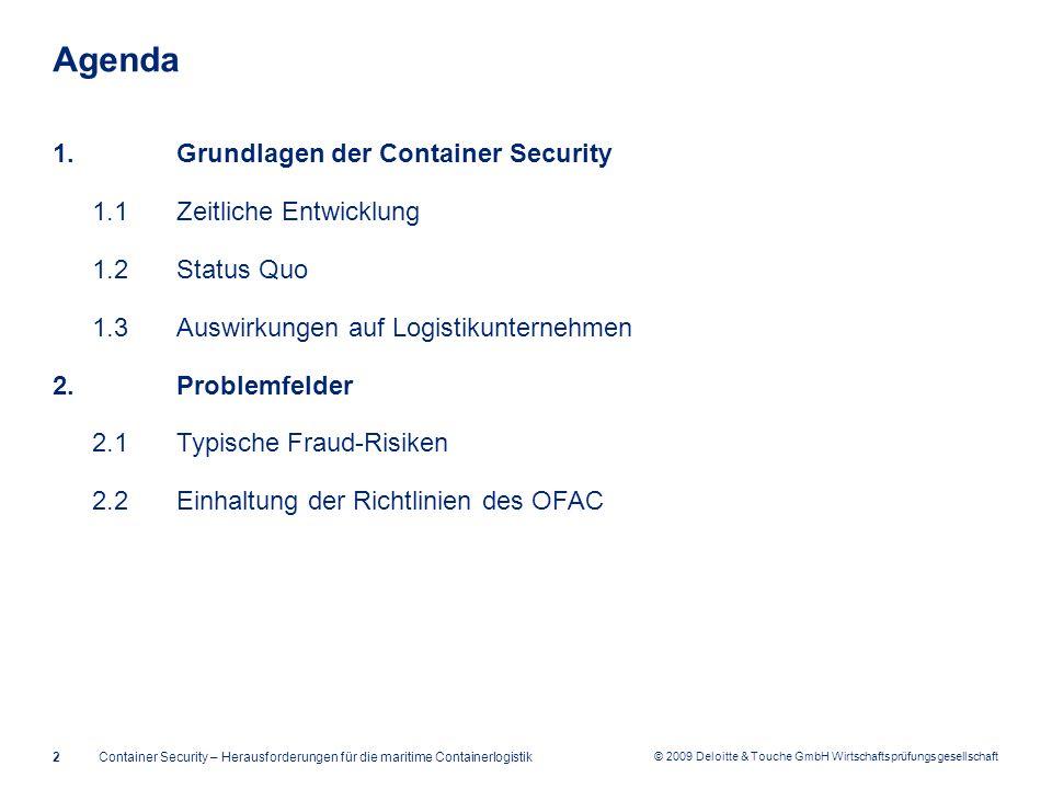Agenda Grundlagen der Container Security 1.1 Zeitliche Entwicklung