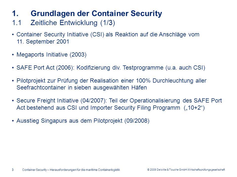 1. Grundlagen der Container Security 1.1 Zeitliche Entwicklung (1/3)