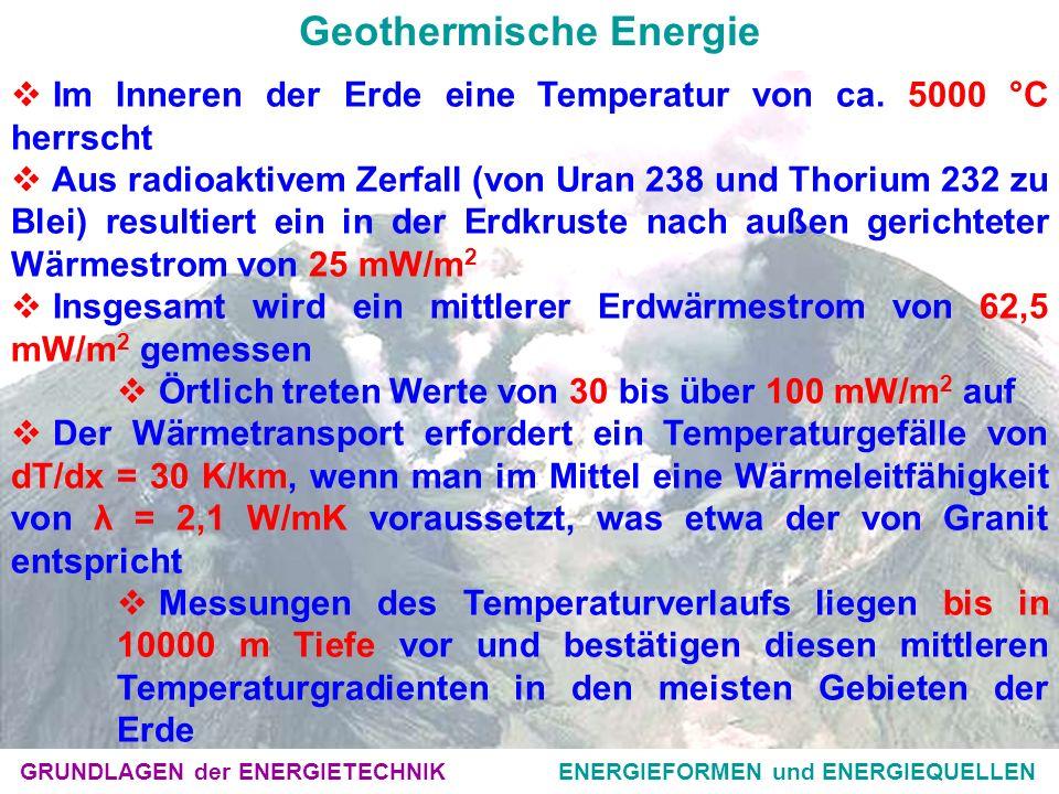 Geothermische Energie