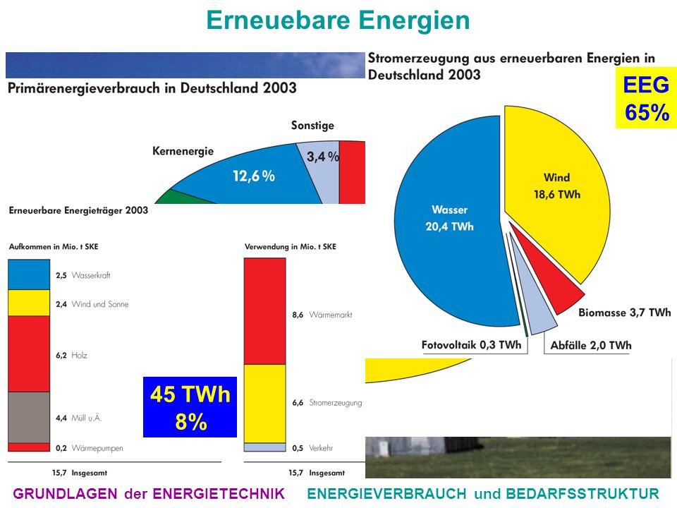 ENERGIEVERBRAUCH und BEDARFSSTRUKTUR