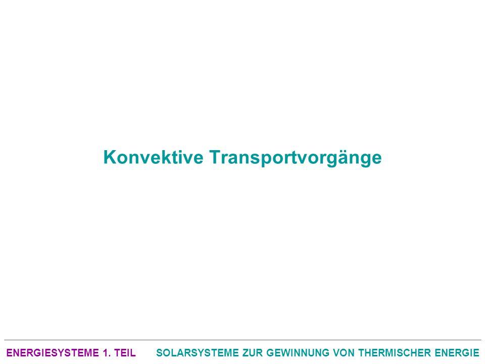 Konvektive Transportvorgänge