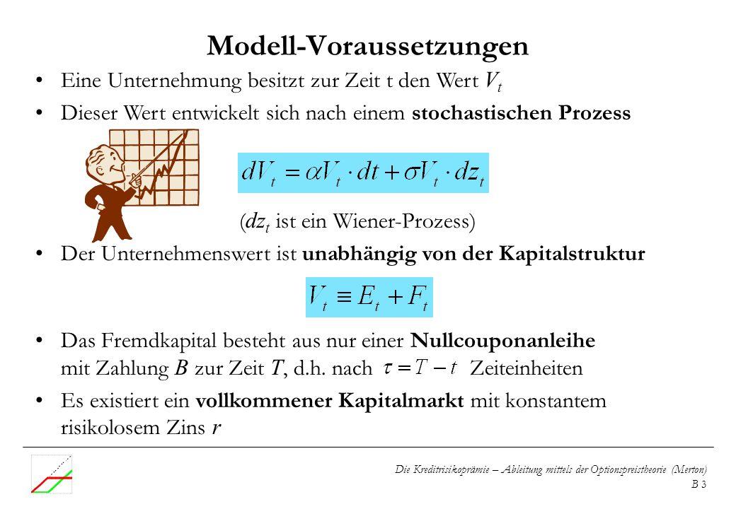 Modell-Voraussetzungen