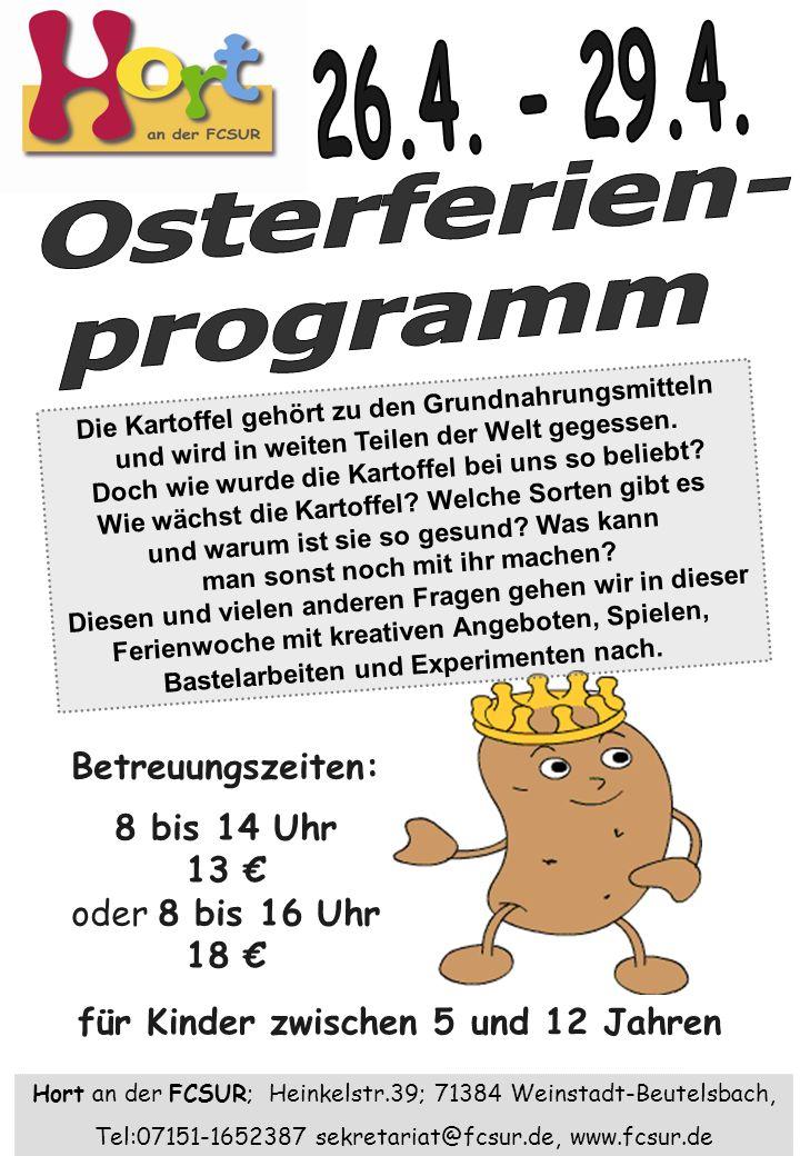 Osterferien- programm