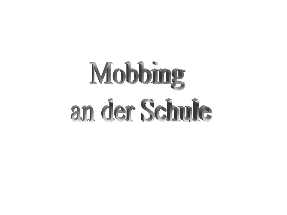 Mobbing an der Schule