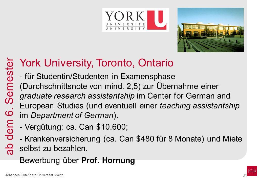 York University, Toronto, Ontario