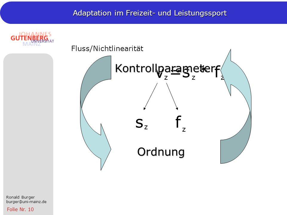 Fluss/Nichtlinearität