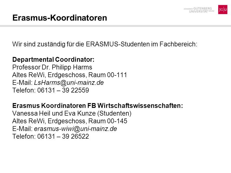 Erasmus-Koordinatoren