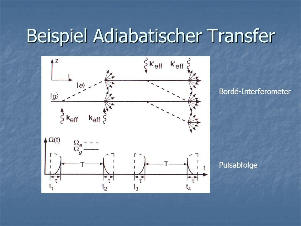 Beispiel Adiabatischer Transfer
