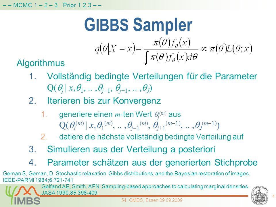 GIBBS Sampler Algorithmus
