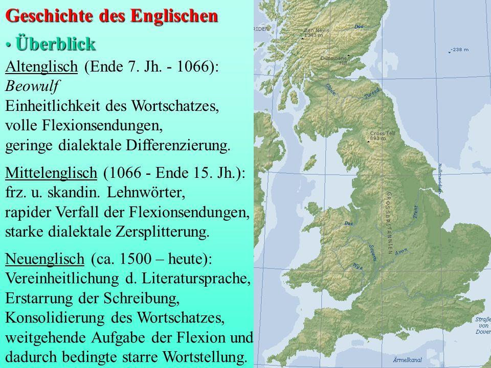 Geschichte des Englischen