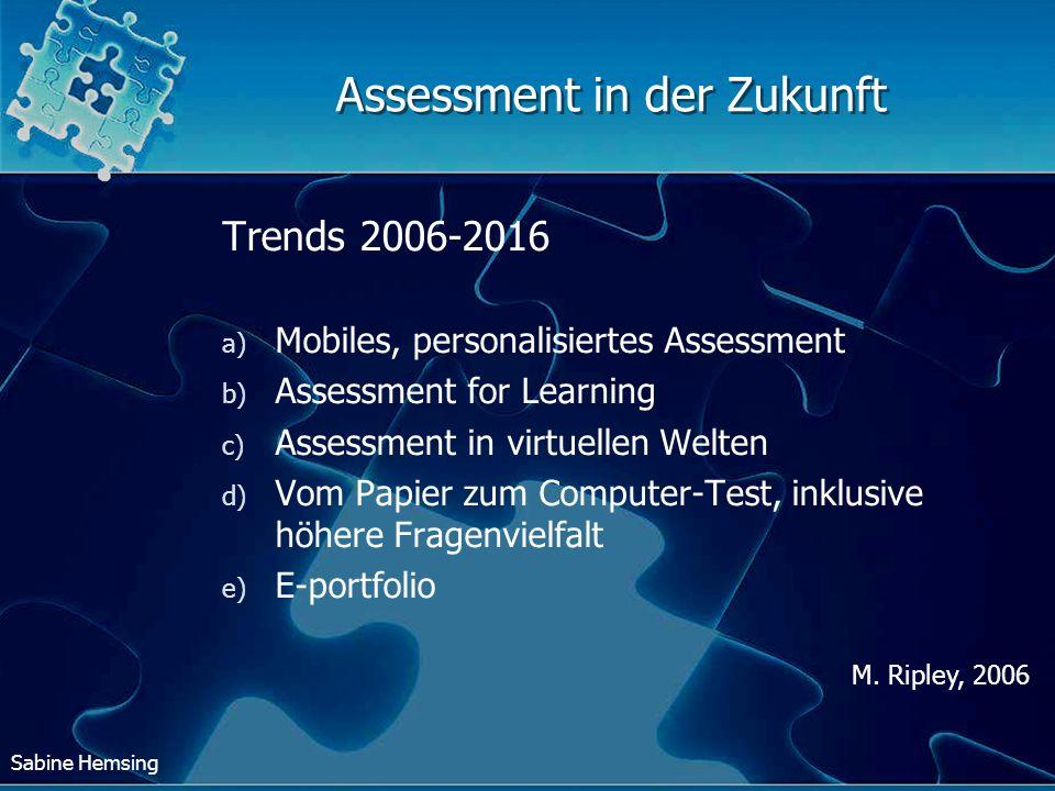 Assessment in der Zukunft