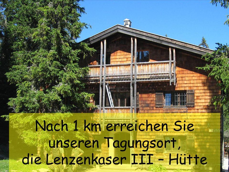 Int. Höhensymposium Lenzenkaser 16. bis 19. Aug. 2007