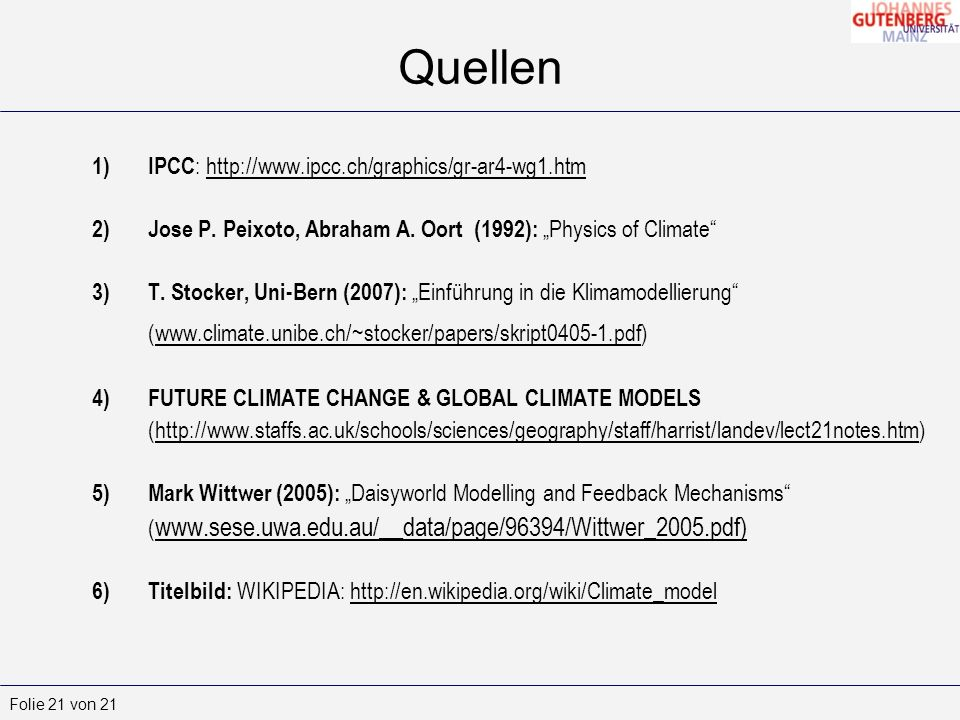 Quellen IPCC: http://www.ipcc.ch/graphics/gr-ar4-wg1.htm