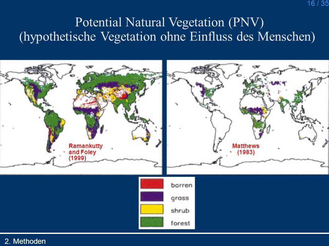 Potential Natural Vegetation (PNV)
