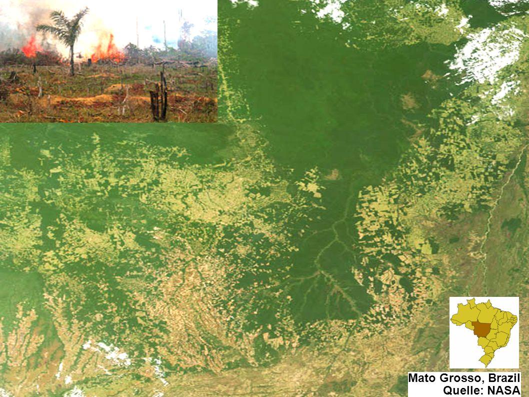 7 / 34 7 / 33 Mato Grosso, Brazil Quelle: NASA Einführung