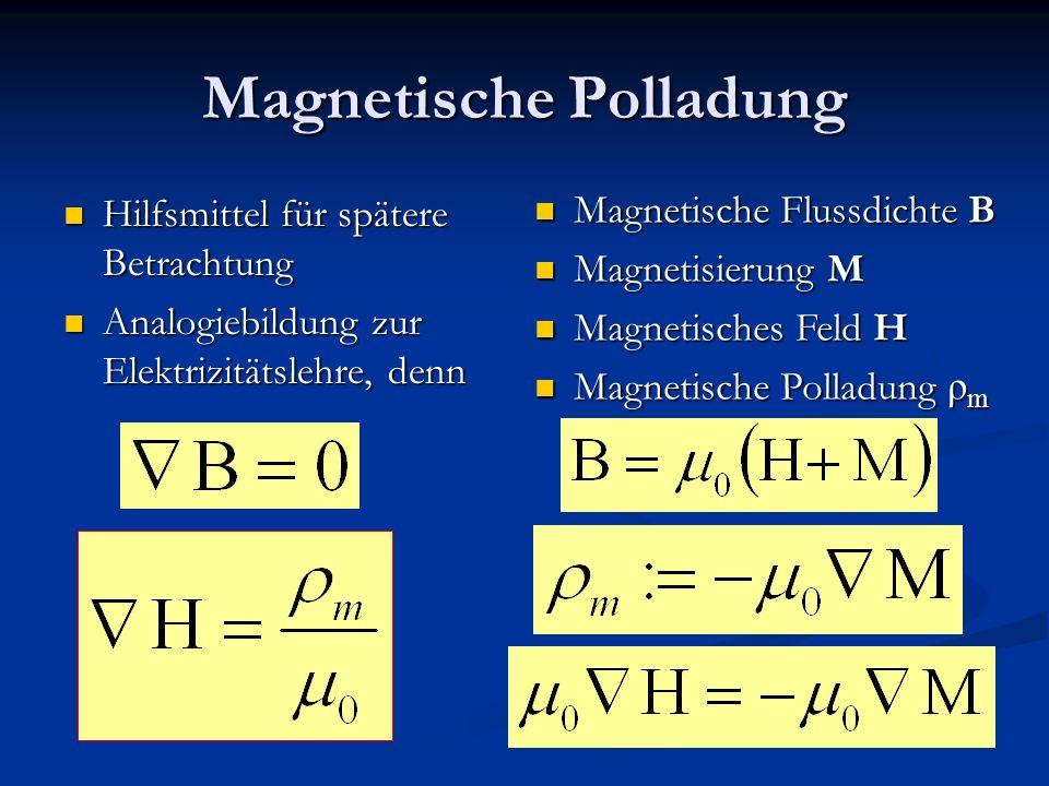 Magnetische Polladung