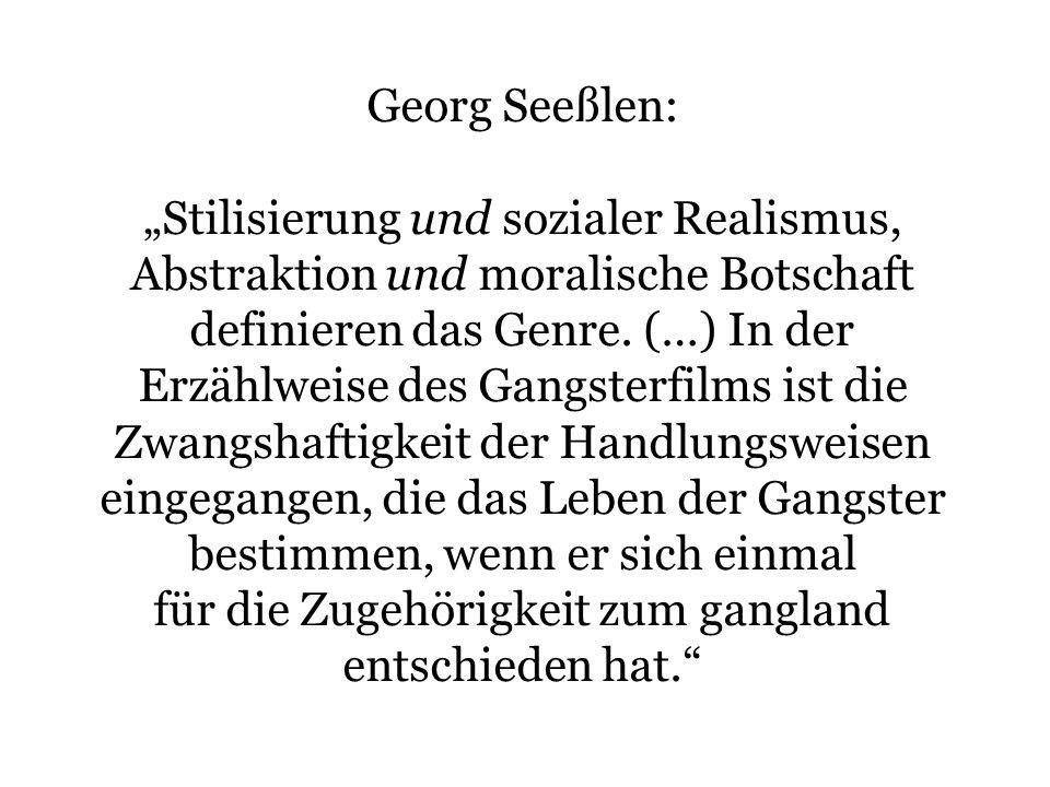 """""""Stilisierung und sozialer Realismus,"""