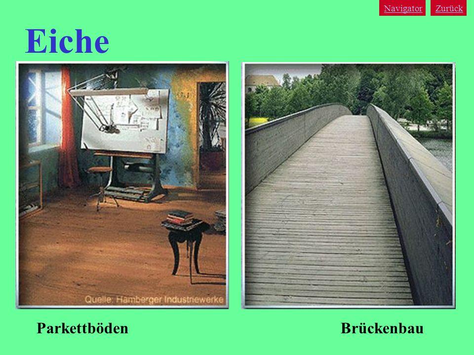 Navigator Zurück Eiche Parkettböden Brückenbau