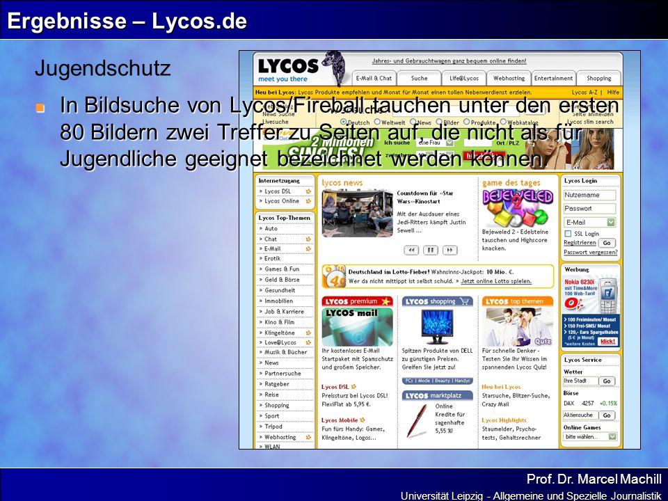 Ergebnisse – Lycos.de Jugendschutz