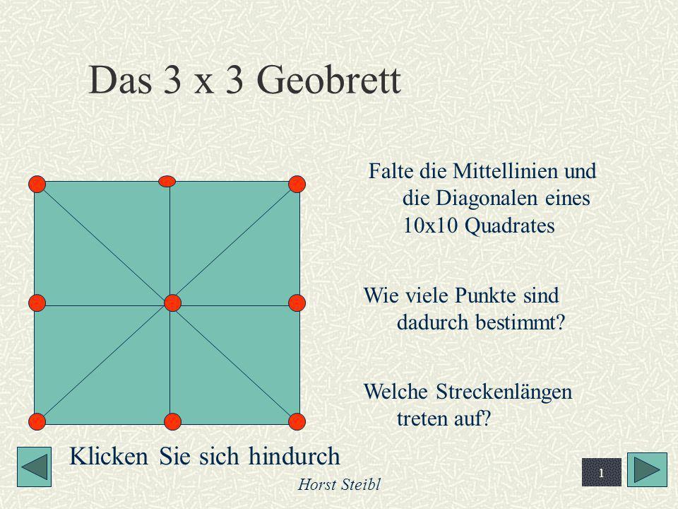 Das 3 x 3 Geobrett Klicken Sie sich hindurch