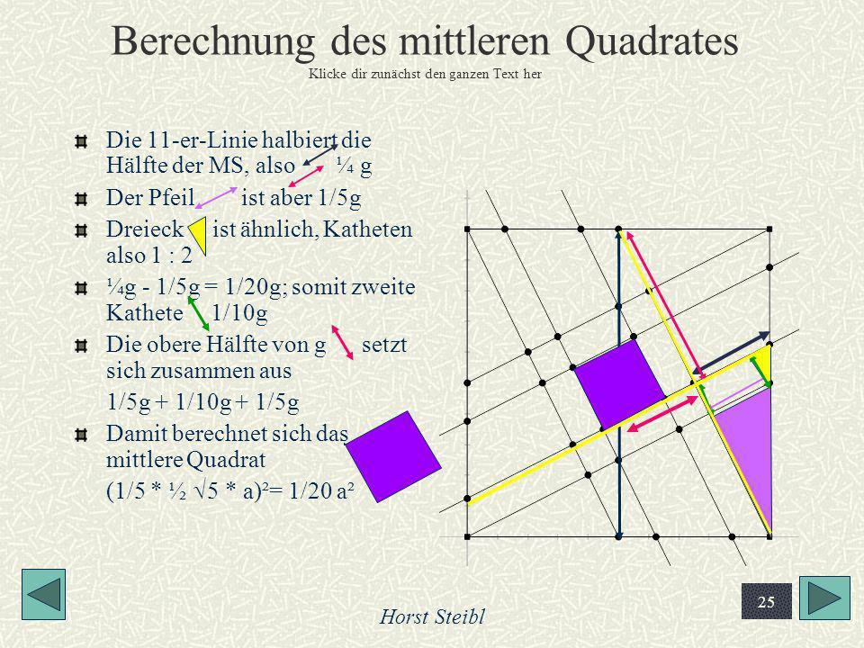 Berechnung des mittleren Quadrates Klicke dir zunächst den ganzen Text her