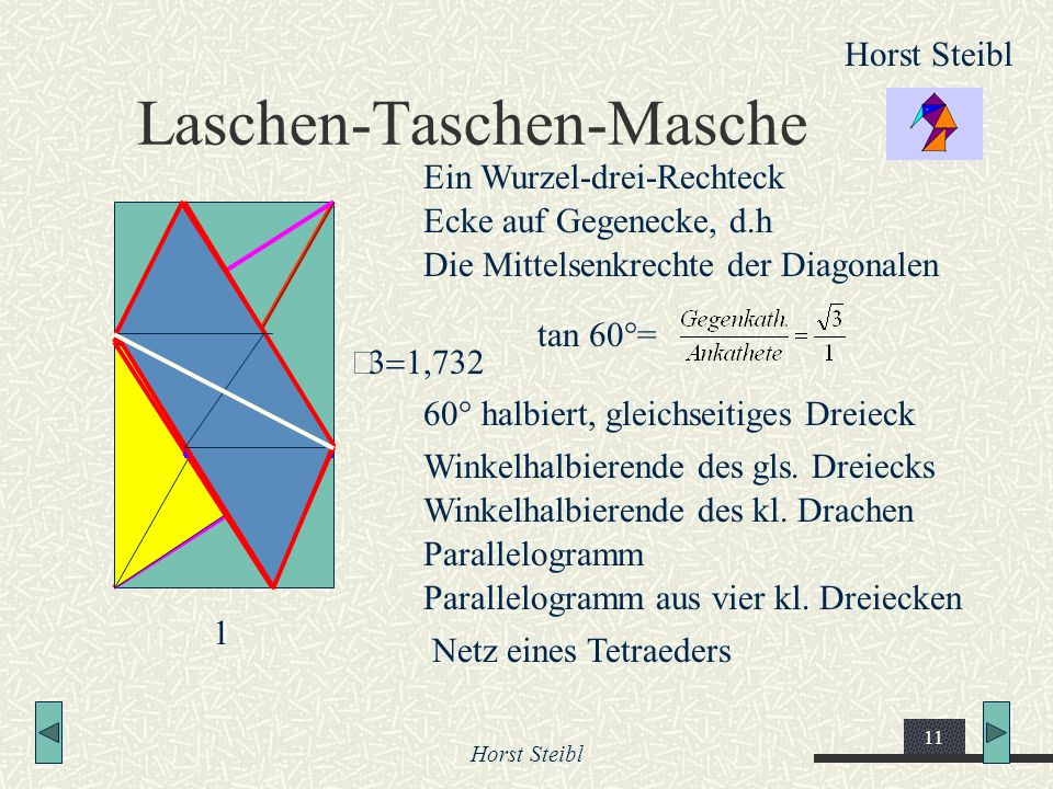 Laschen-Taschen-Masche