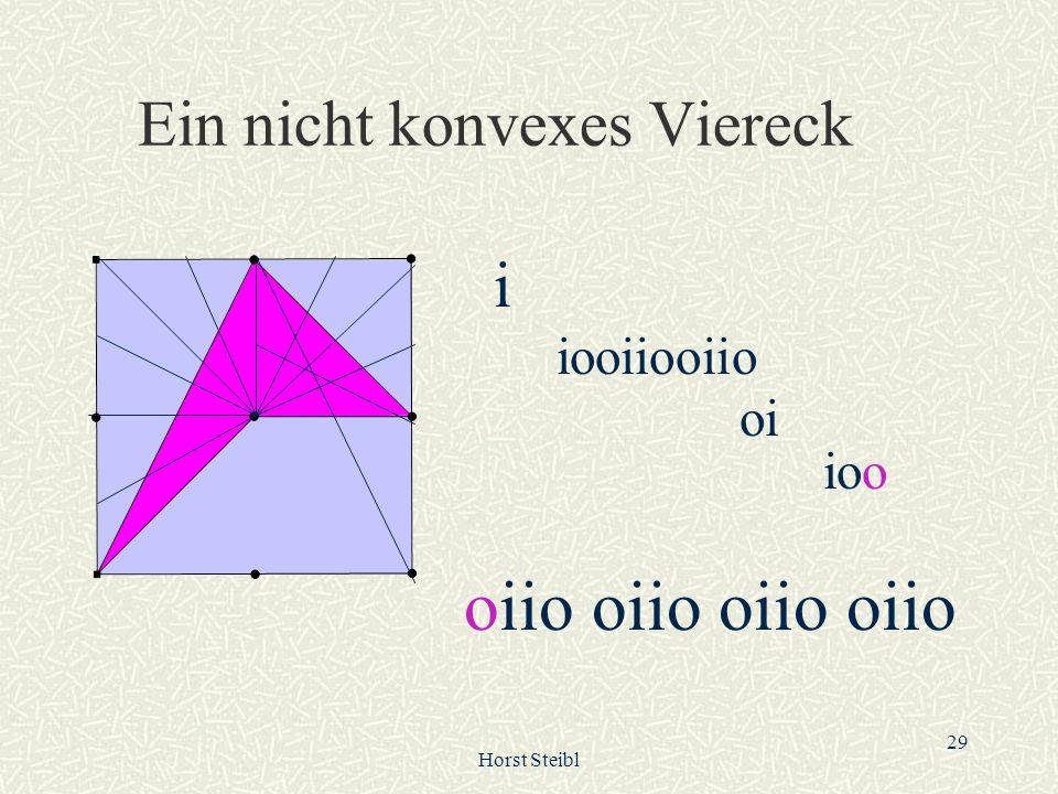 Ein nicht konvexes Viereck