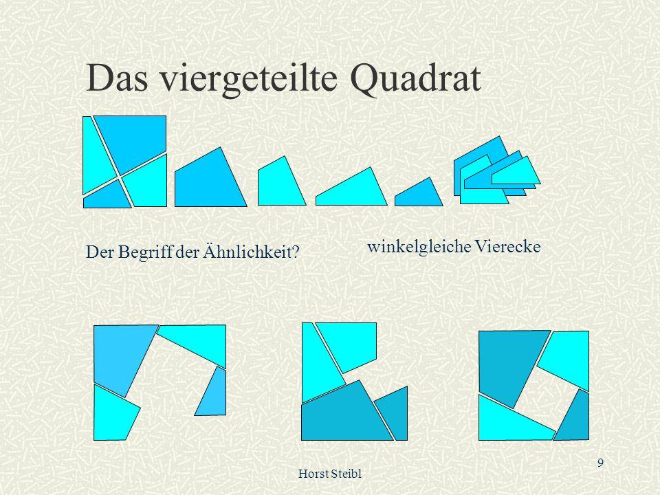 Das viergeteilte Quadrat