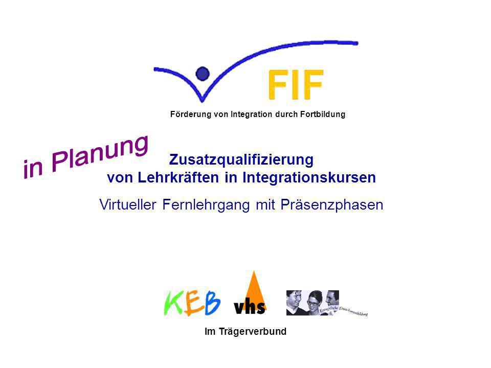 Förderung von Integration durch Fortbildung