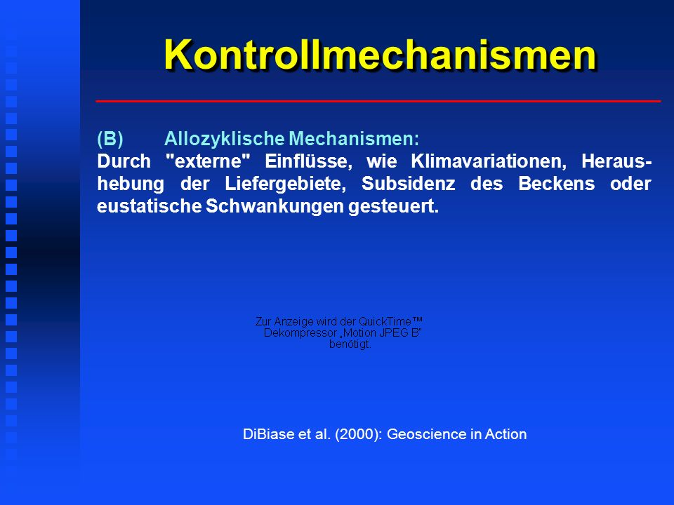 Kontrollmechanismen (B) Allozyklische Mechanismen: