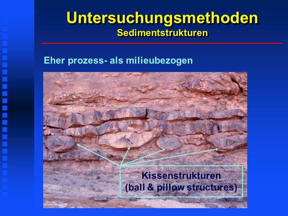 Untersuchungsmethoden Sedimentstrukturen